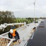 Ikea Zwolle installeert 9 windmolens op het dak