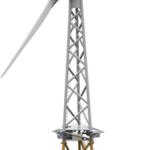 Revolutionaire windturbine met 2 ipv 3 rotorbladen voor helikopter