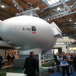Enercon E-115 staat op Hannover Messe