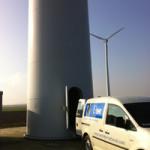 EWT test prototype DW61 in Lelystad
