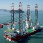 Grootste windturbine installatieschip ter wereld in Rotterdamse Haven