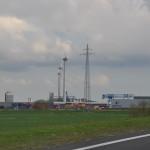 Actiegroep Tegenwind demonstreert tegen windturbines in Goor