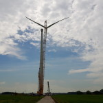 Windpark Netterden in volle bouw