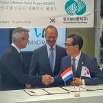 Overeenkomst Wind Minds en Korea Offshore Wind Power voor samenwerking 1e offshore windpark in Zuid-Korea