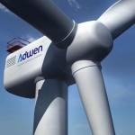 Bremerhaven bouwt 8 MW Adwen offshore windturbine