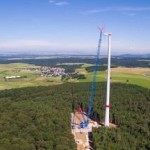 Primeur voor Noord-Holland: windturbines in bos