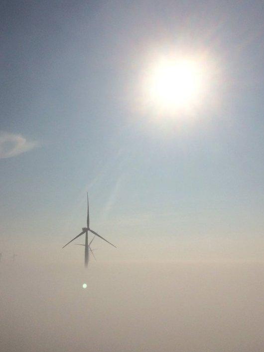 Olieplatforms gebruiken als fundering voor offshore windturbines?