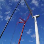 Nordex plaatst 2 nieuwe windturbines bij windpark Kreekraksluis