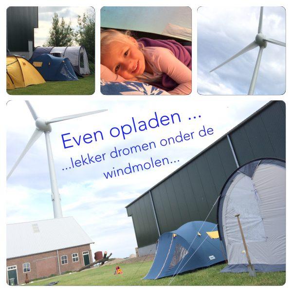 Ook ervaren hoe het wonen en slapen in nabijheid van een grote windmolen kon bij windpark Wieringermeer
