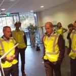 Diederik Samsom op bezoek bij windturbinefabrikant EWT