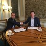 Intentieovereenkomst Windpark Fryslân formeel getekend