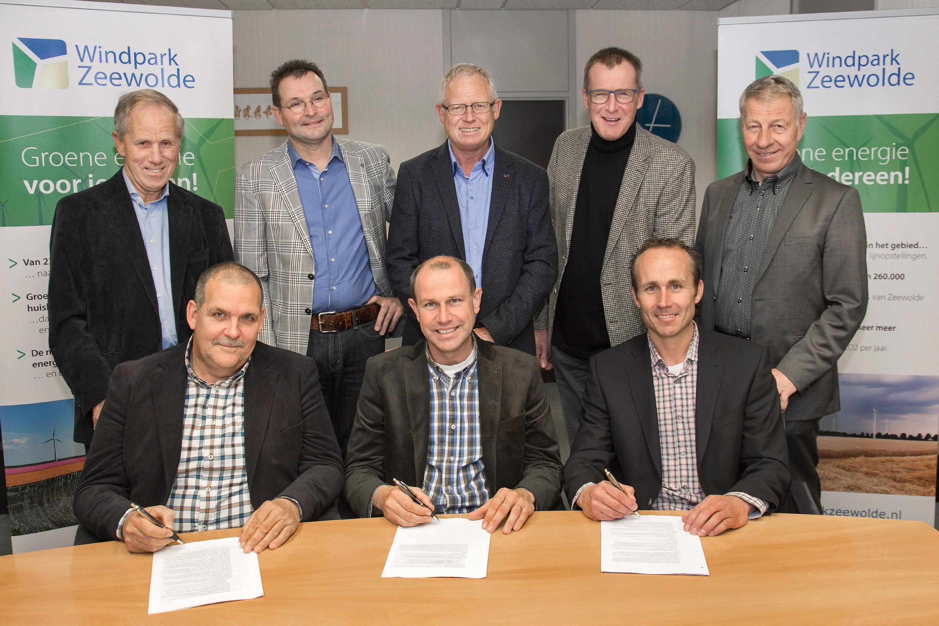 Foto Oprichting BV (c) Windpark Zeewolde