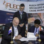 Rusch ME wint contract voor onderhoud en reparatie van 23 kranen op Das Island nabij Abu Dhabi