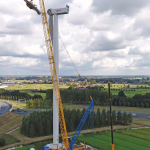 Duitse windenergie op land groeit met nieuwe record