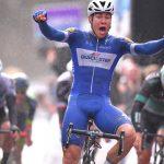 Wielrenner Fabio Jakobsen gaat voor Betuwewind