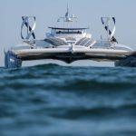1e autonome waterstofschip ter wereld maakt ook gebruik van windturbines