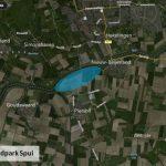240 funderingspalen van windpark Spui in Korendijk staan