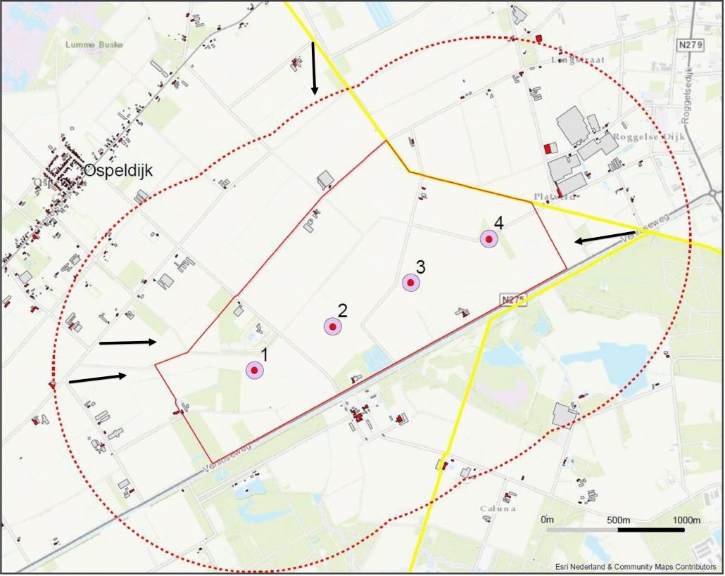 SDE+ subsidie toegekend aan Burgerwindpark Ospeldijk