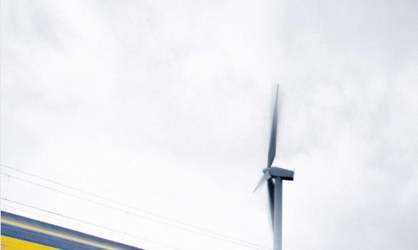 NS en Vattenfall plannen windpark in Amsterdam