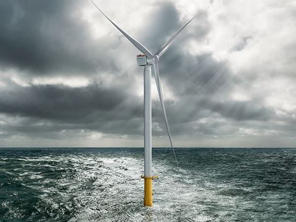 Siemens Gamesa introduceert 10 MW offshore windturbine aan