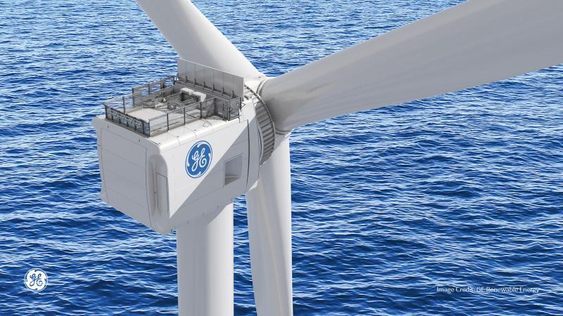 GE plaatst prototype 12 MW offshore windturbine in Rotterdam