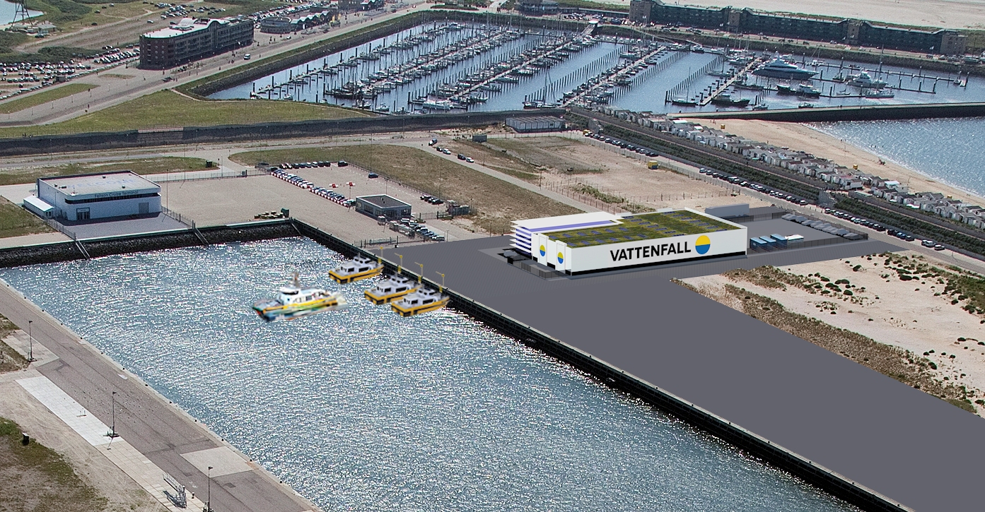 Vattenfall kiest IJmuiden als onderhoudshub voor Hollandse Kust Zuid 1&2