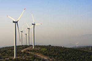 Eind 2018 was wereldwijd 591 GW aan windenergievermogen geïnstalleerd