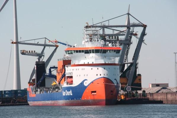 Offshore wind draagt bij aan omzet groei Van Oord