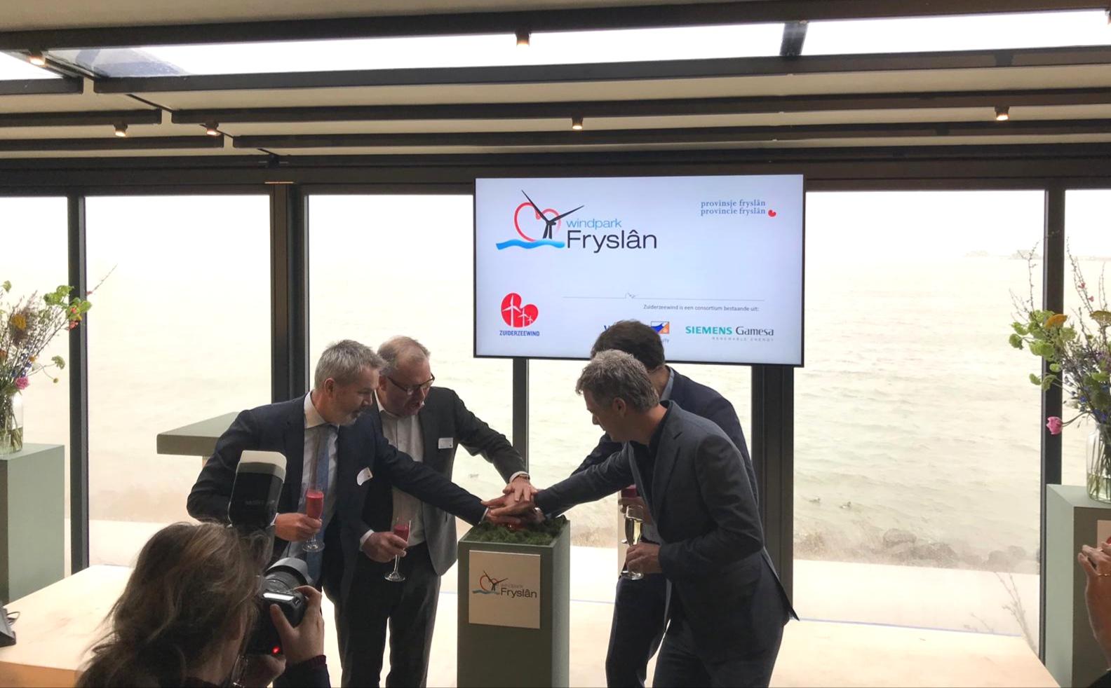 Startsein voor Windpark Fryslân