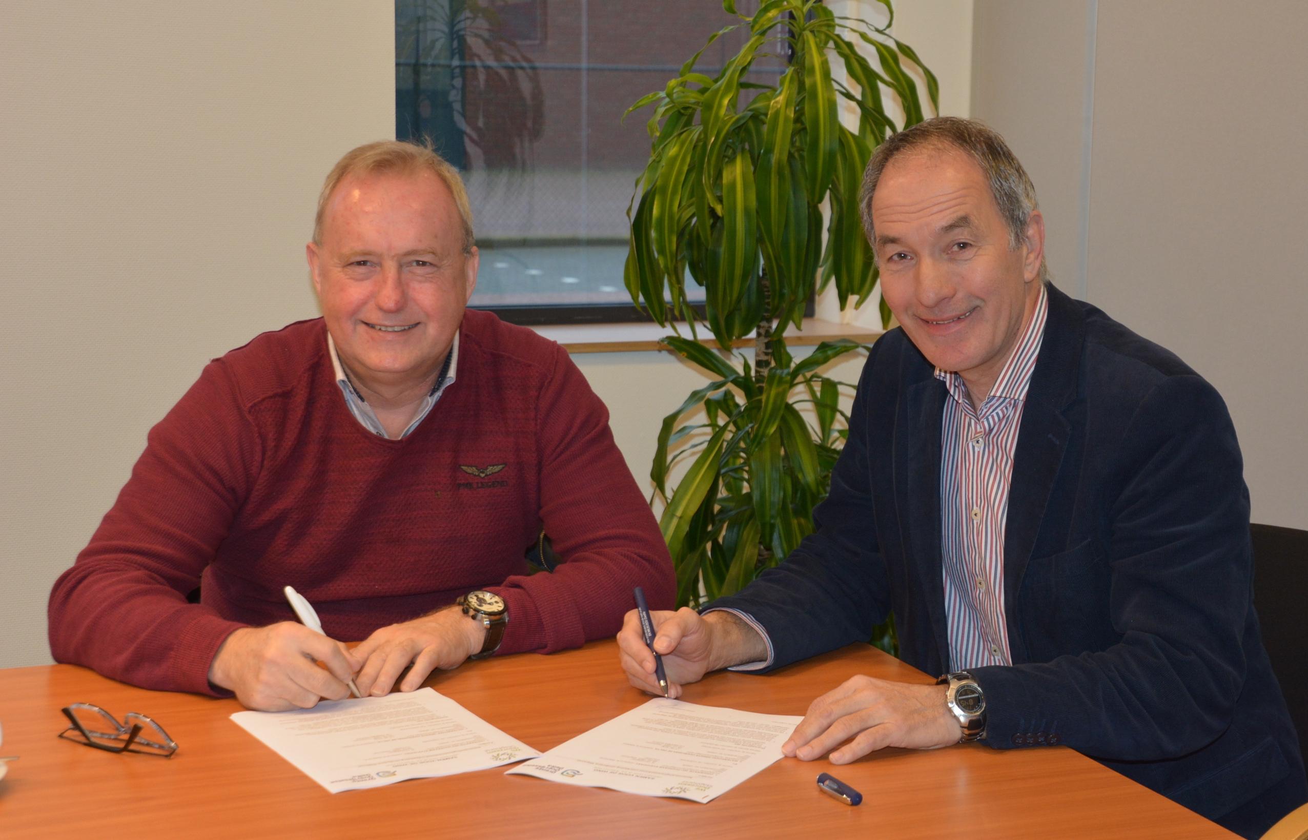 Coöperatie Wij Duurzaam Staphorst en Waterschap Drents Overijsselse Delta sluiten overeenkomst voor 12 MW windpark