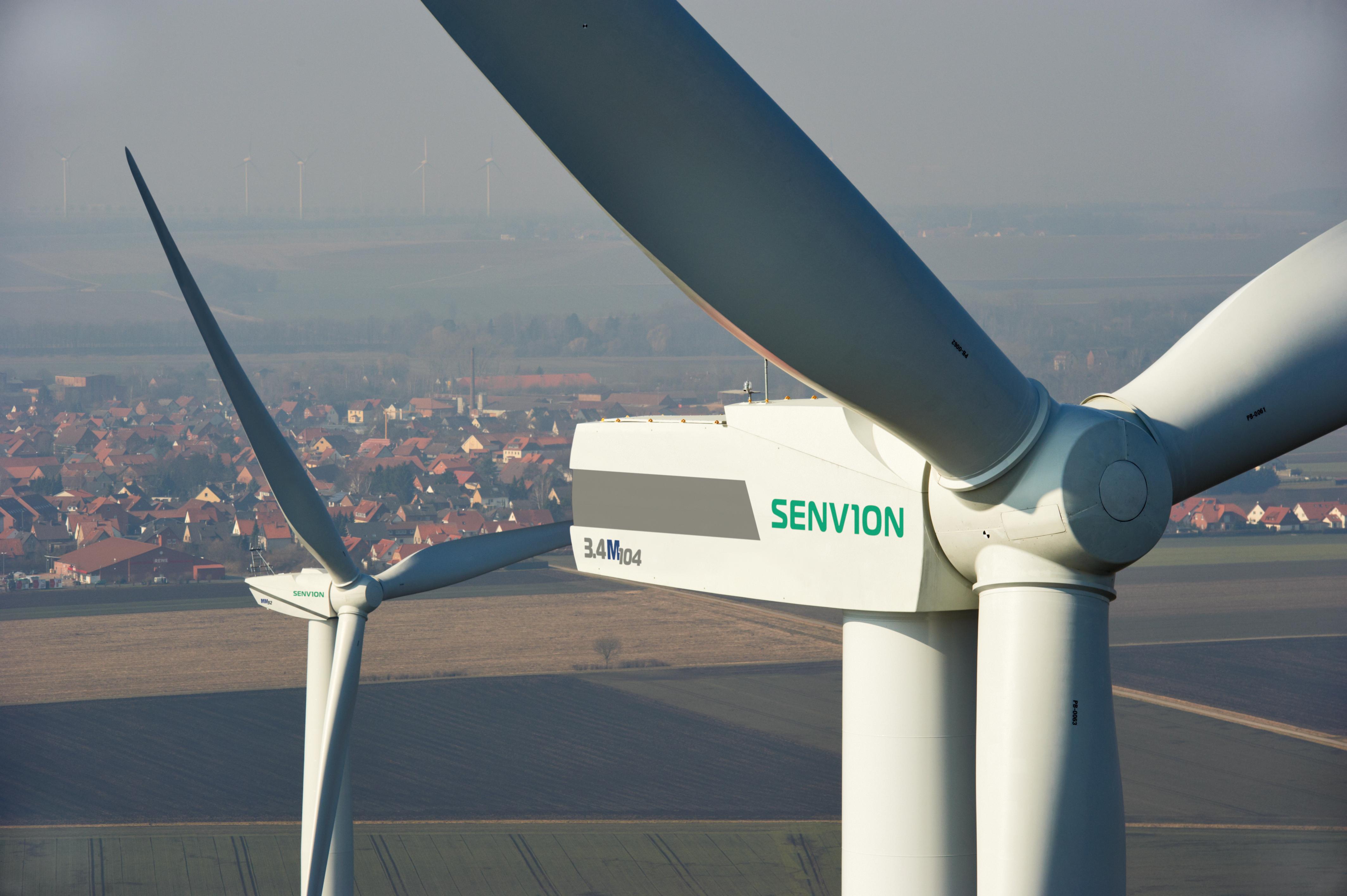 Senvion organiseert 100 miljoen Euro lening