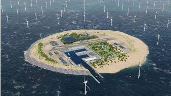Eiland-hub technisch en economisch haalbaar maar niet op tijd voor IJmuiden Ver