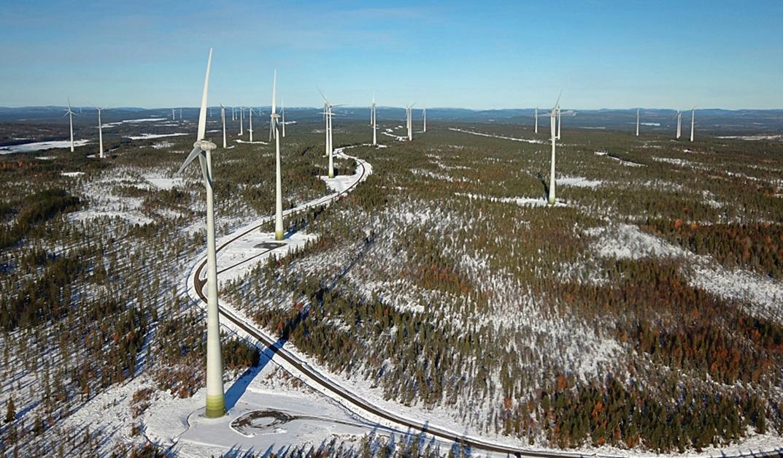 Enercon realiseert Zweeds onshore windpark Markbygden fase II