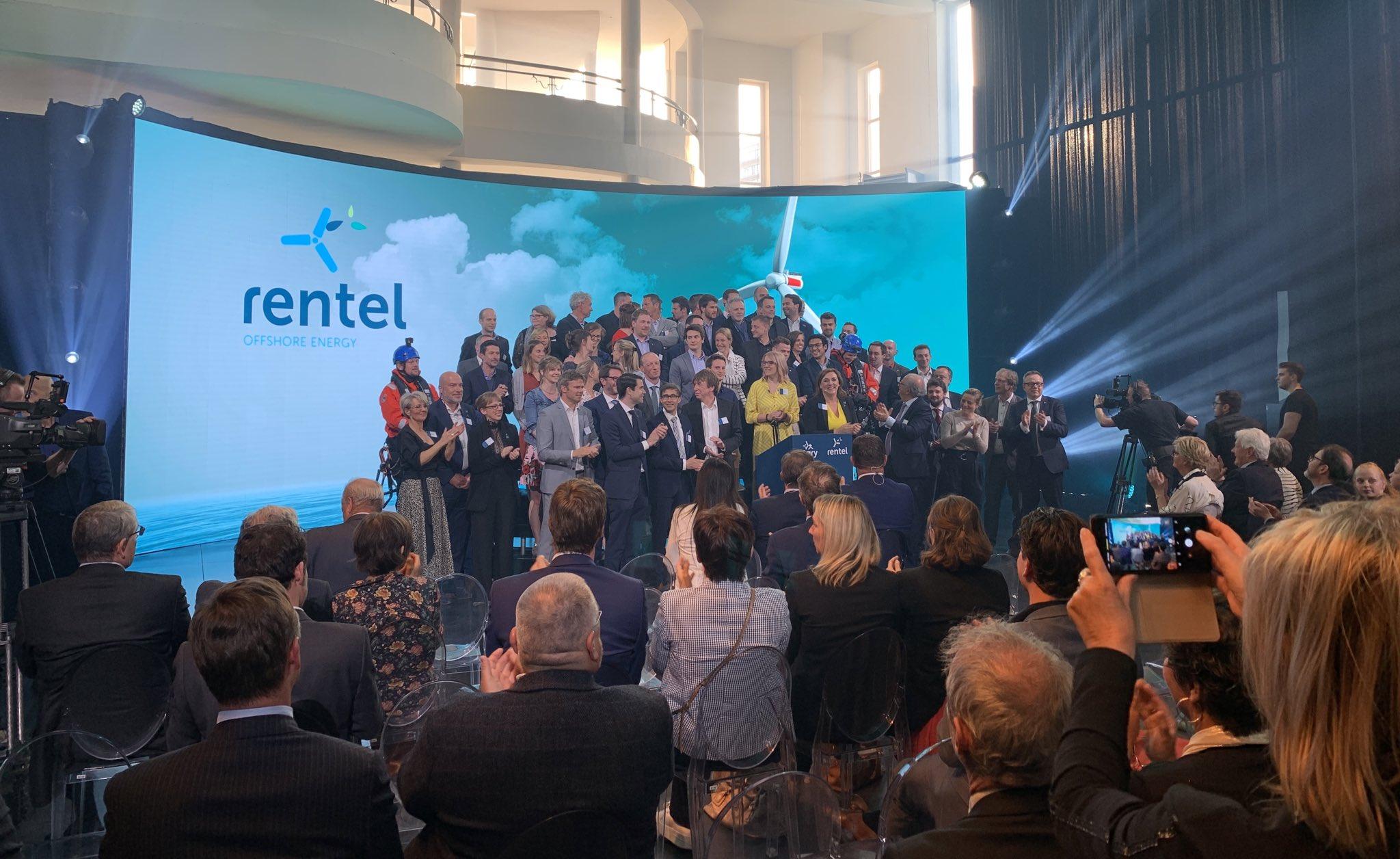 Belgie: Offshore windpark Rentel officieel geopend