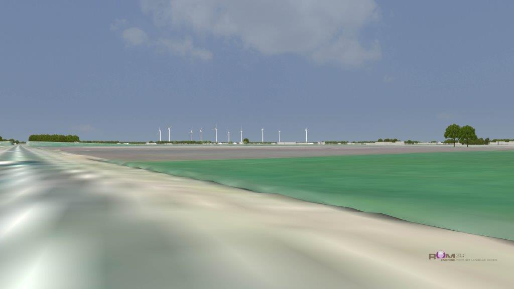 Heiwerkzaamheden Windpark De Veenwieken afgerond