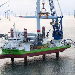 DEME Offshore ontvangt grote installatieorder voor offshore windpark in UK