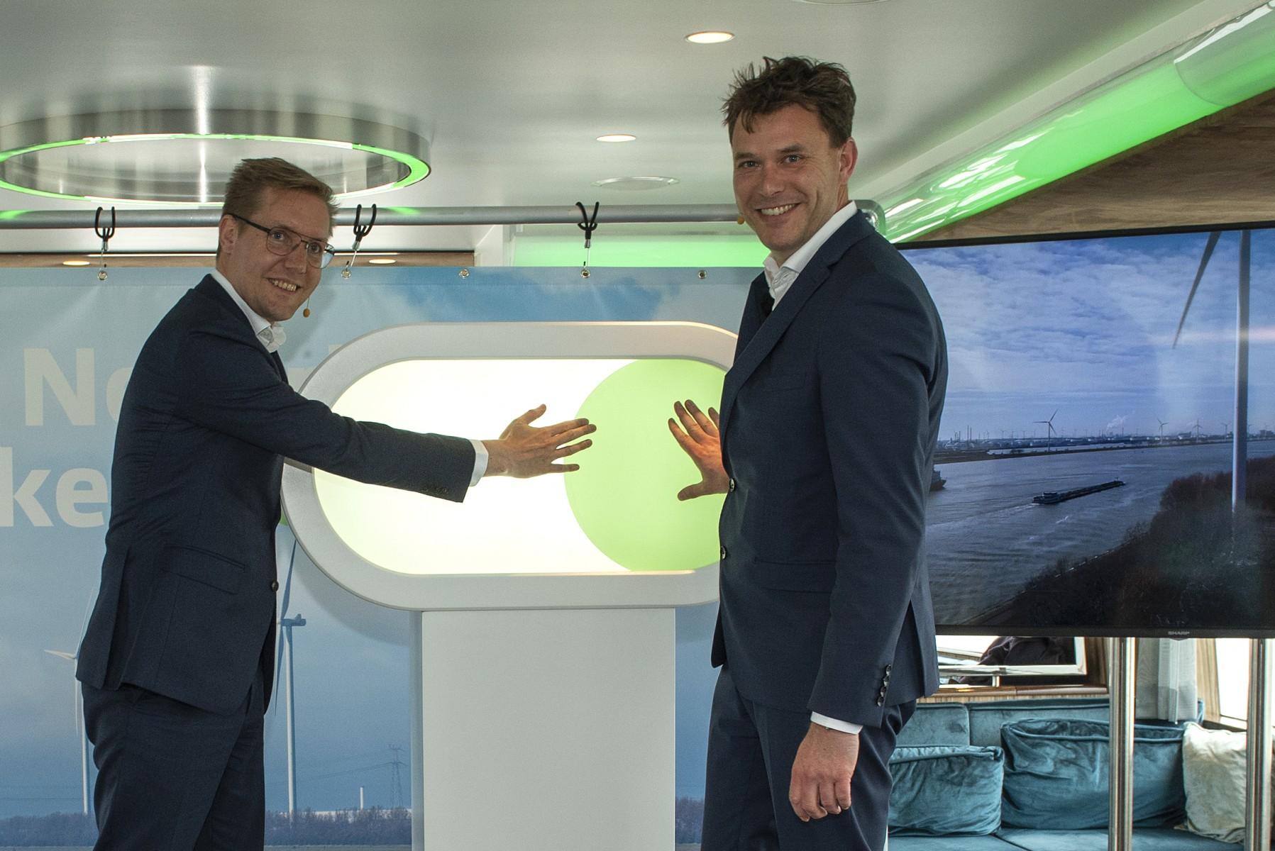 Eneco opent Windpark Nieuwe Waterweg