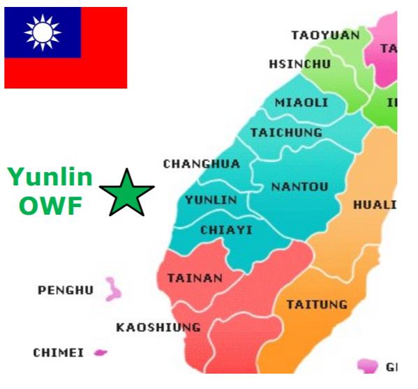 Taiwan: Offshore windpark Yunlin krijgt tot nu toe zwaarste monopiles