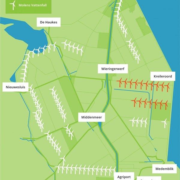 Windpark Wieringermeer opent Windloket