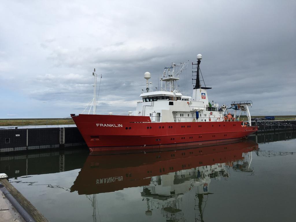 Geofysisch onderzoek windgebied Ten noorden van de Waddeneilanden gestart