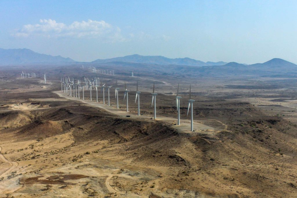 Grootste windpark in Africa geopend