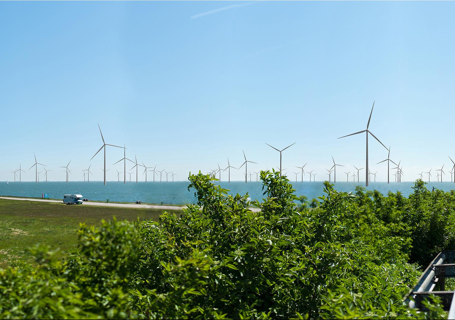 Eneco sluit grootste stroomcontract met Nederlands windpark af