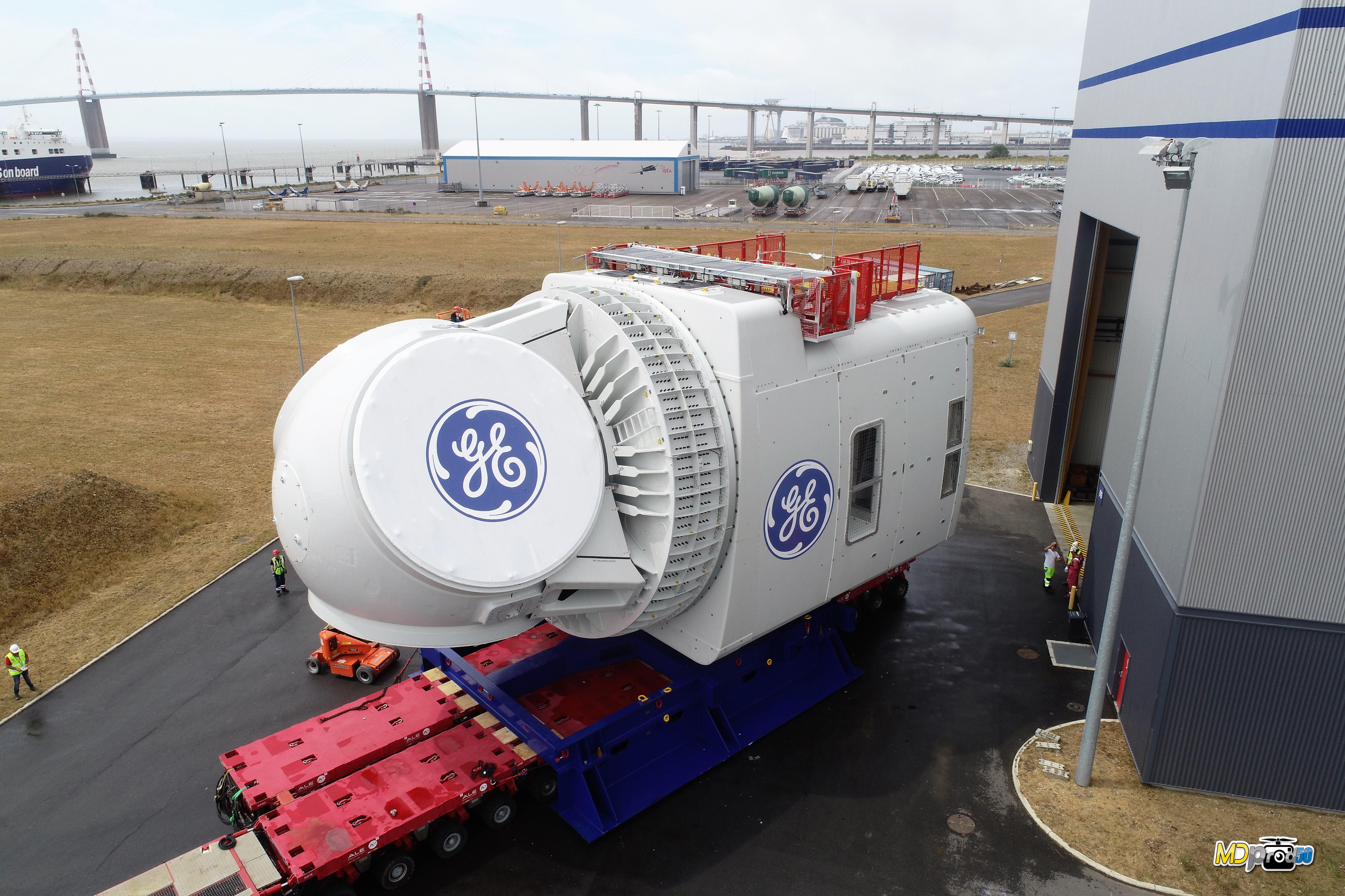GE presenteert gondel prototype Haliade-X 12 MW