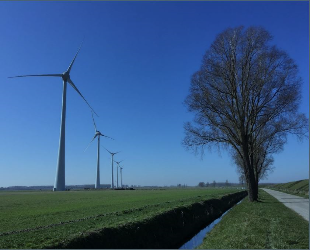 Windpark Spui operationeel