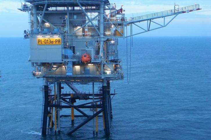 Proeffabriek voor waterstofproductie op de Noordzee
