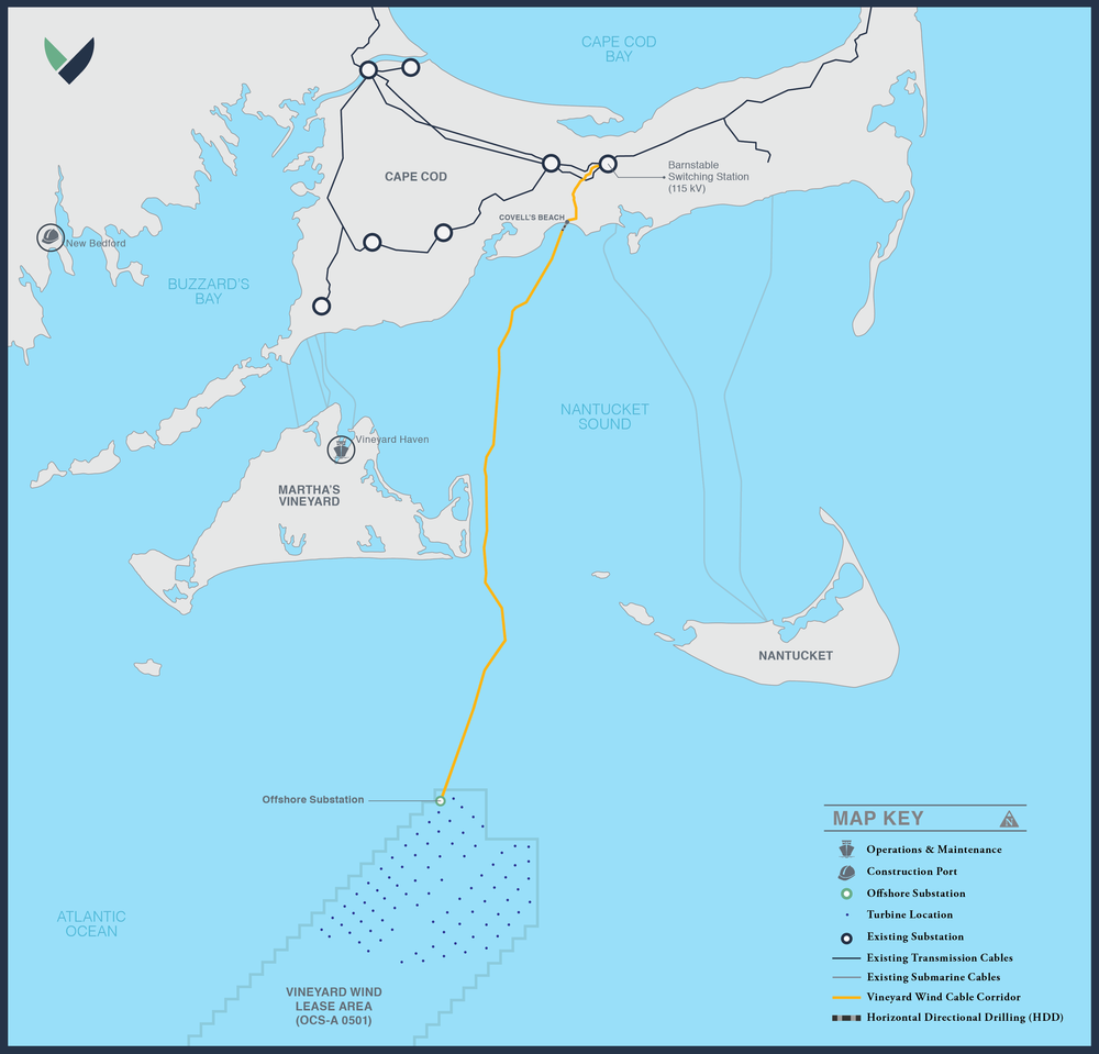 Amerikaans offshore windpark Vineyard Wind loopt op laatste moment vertraging op