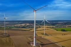 Eerste Nordex windturbine met 238,5 m tiphoogte geplaatst