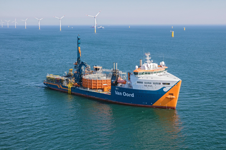 Van Oord installeert kabels voor Taiwanese windparken