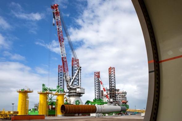 DEME begint met aanleg grootste offshore windpark in België