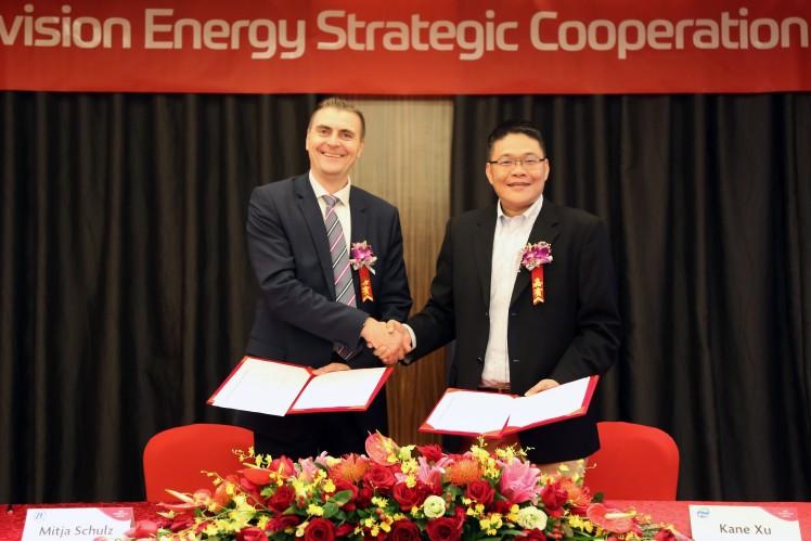 ZF en Envision Energy tekenen overeenkomst voor strategische partnerschap